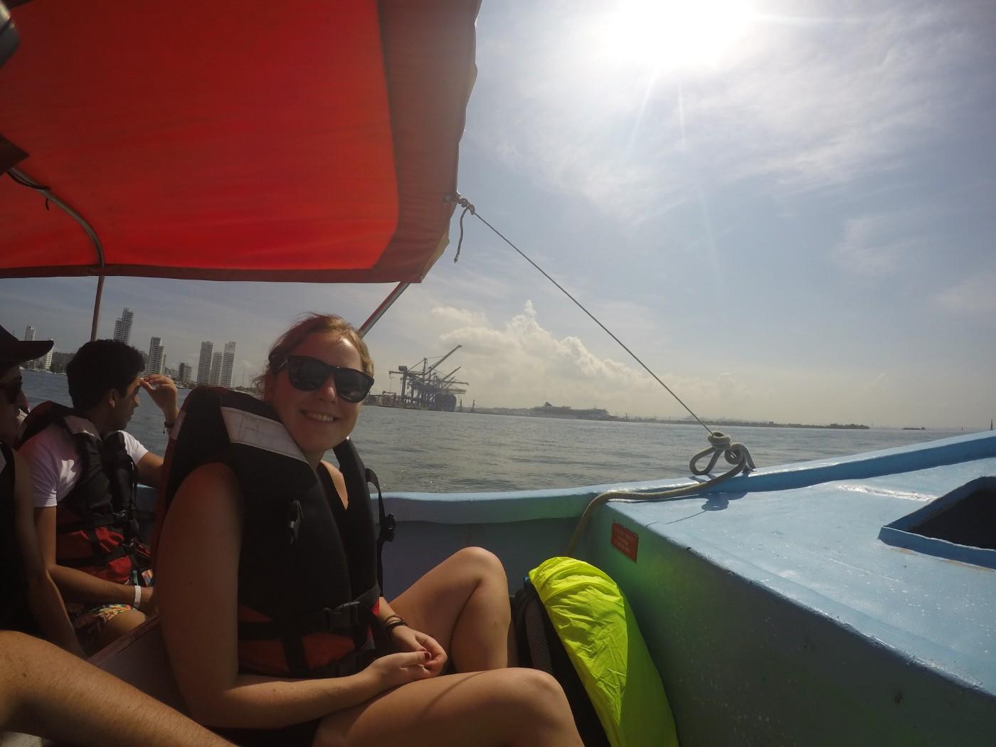 Bootsfahrt Hafen