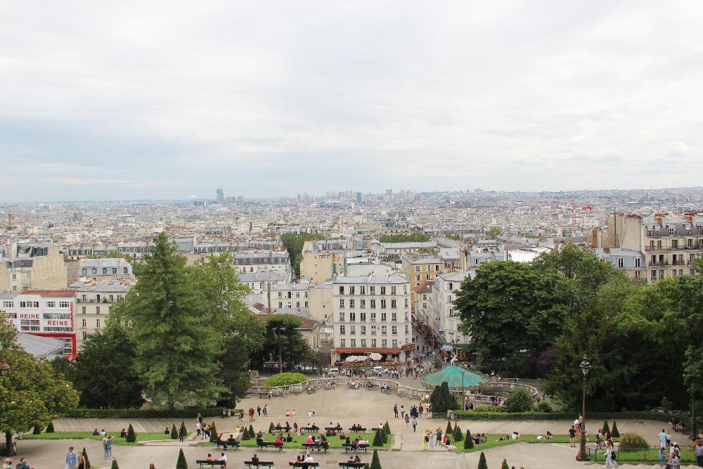 Aussicht-Paris