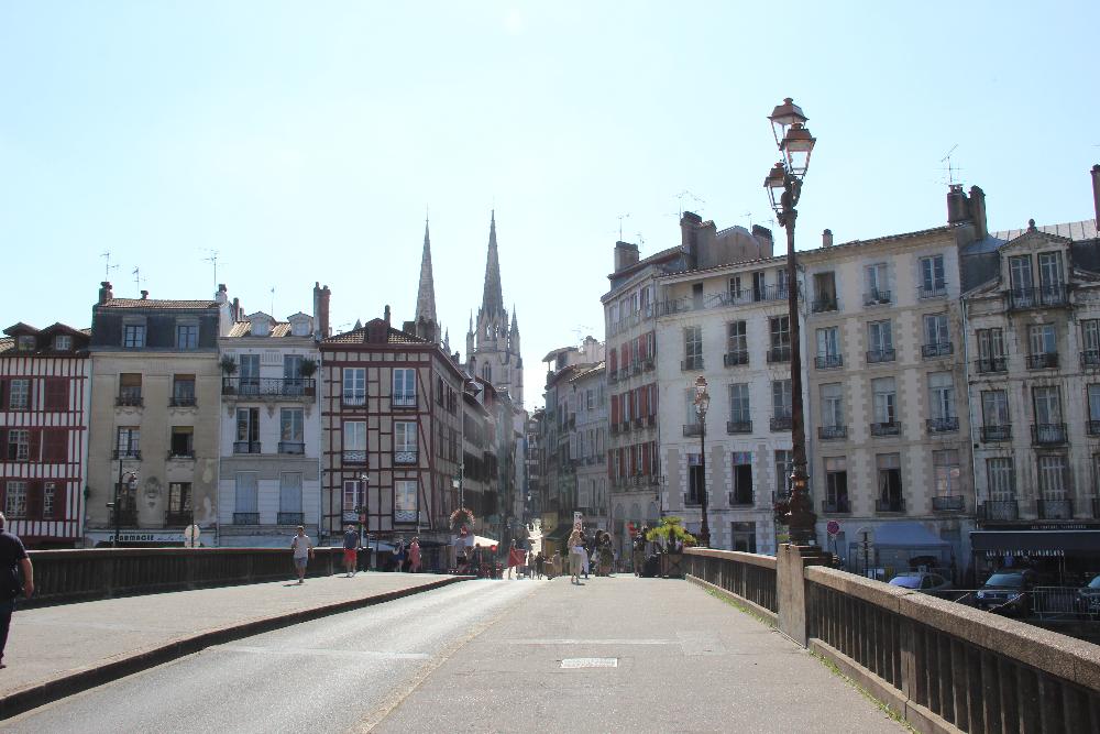 Stadtansicht Bayonne