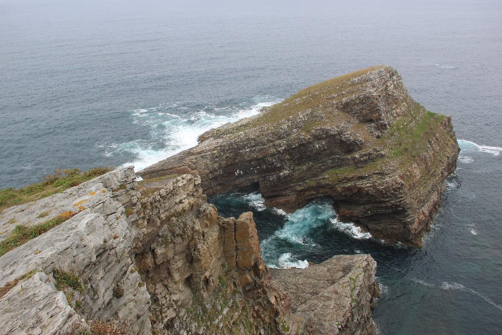 Aussichtspunkt am Meer