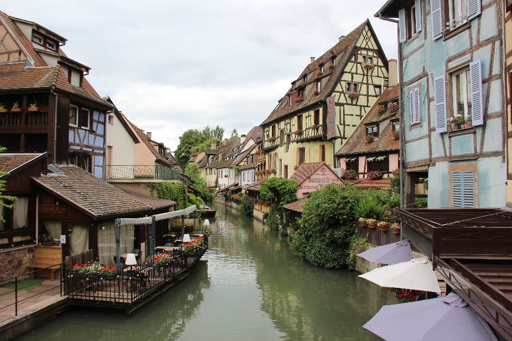 Flusslauf-Colmar