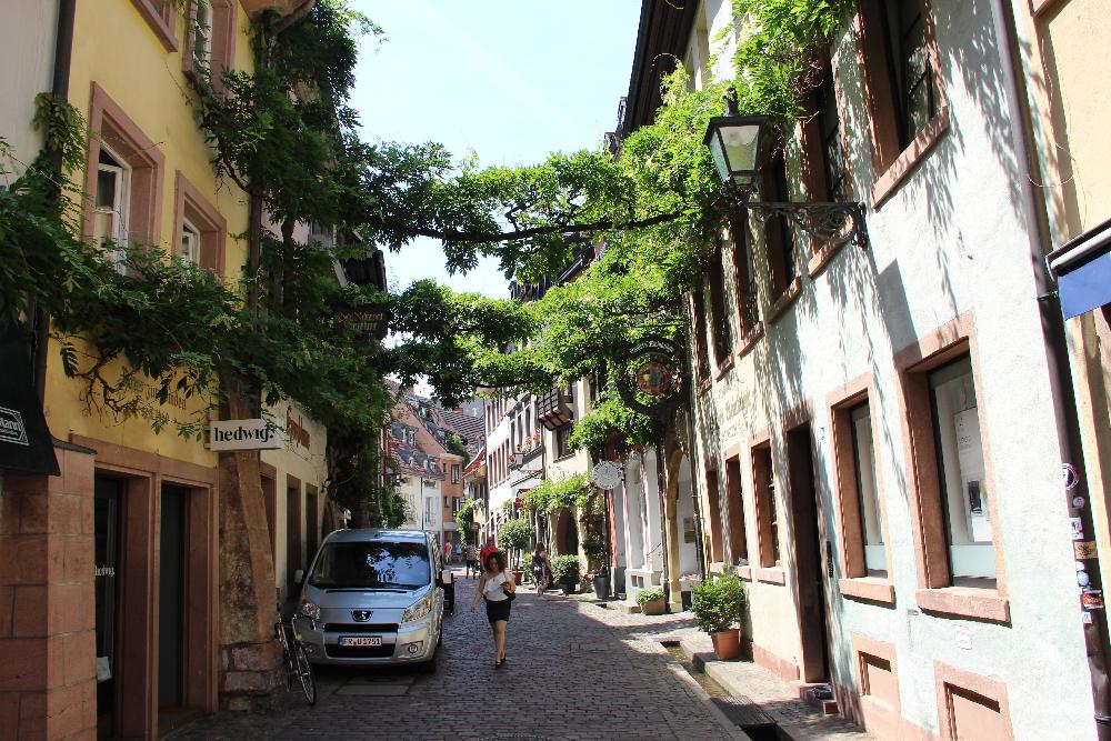 Straße-in-Freiburg