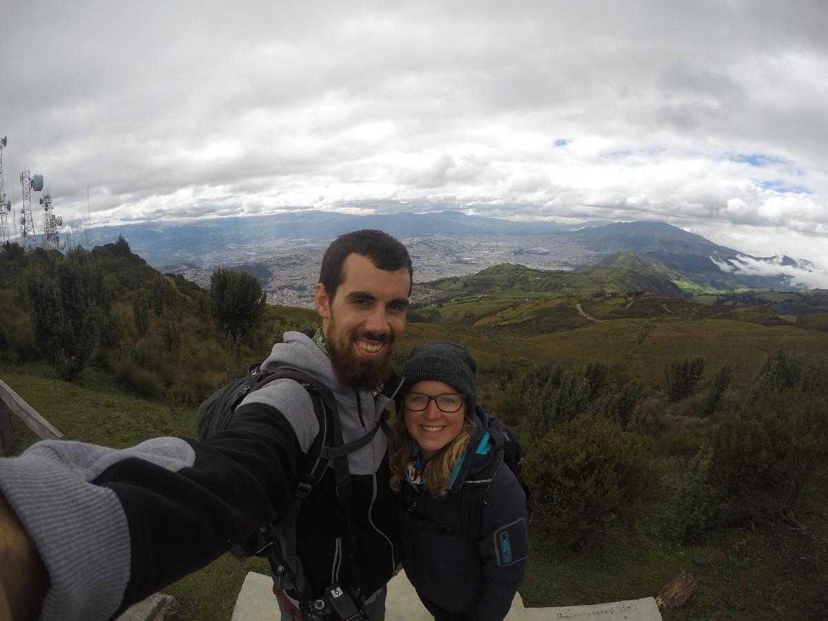 Quito Wanderung Vulkan Aussicht