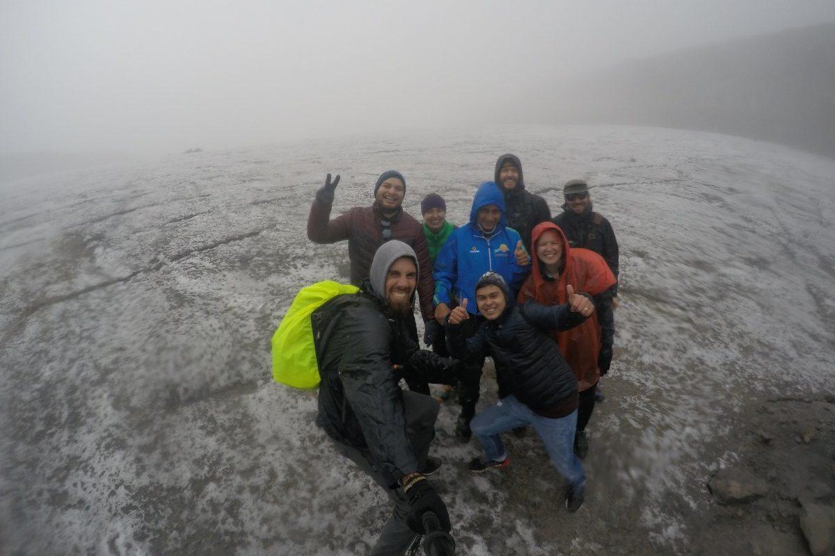 Santa Isabel Vulkan Gletscher