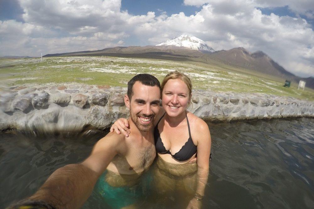 Sajama Nationalpark Natur Sajama Berg Gipfel Höchster Berg Boliviens Südamerika Wanderung Hot Springs