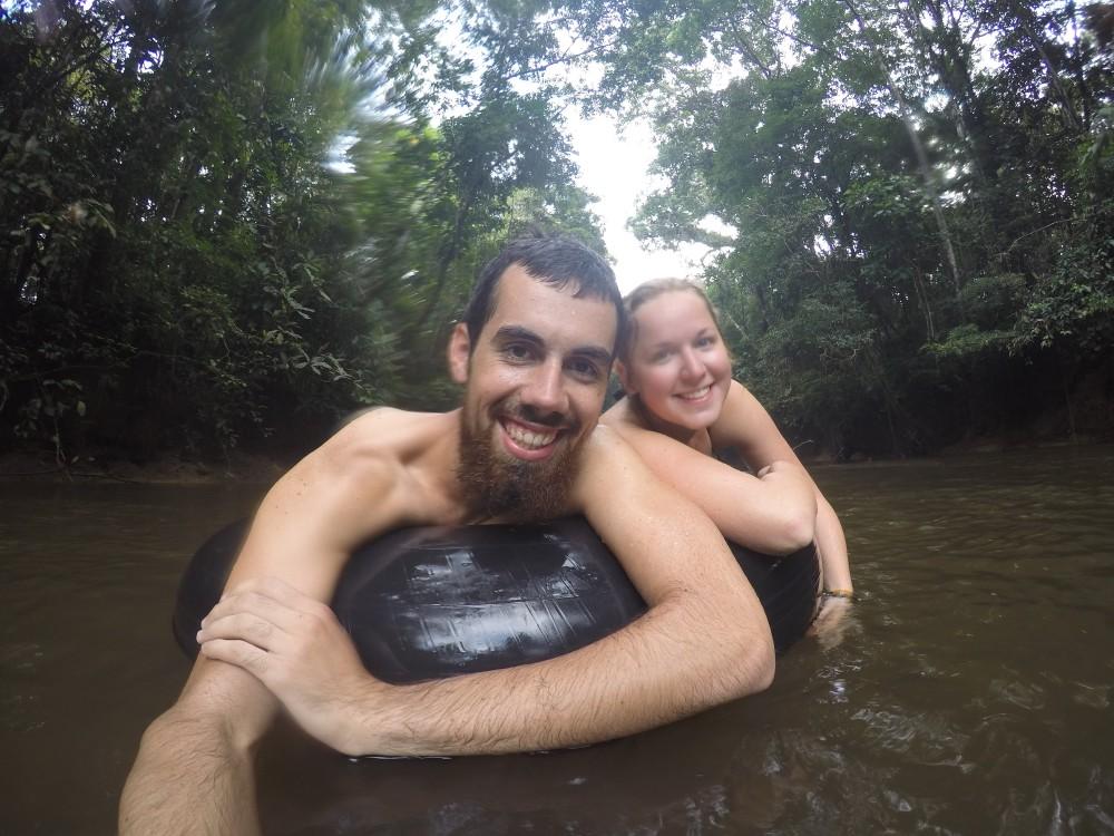 Amazonas Cuyabeno Natur Rainforest Wildlife Tuben Reifen Spaß