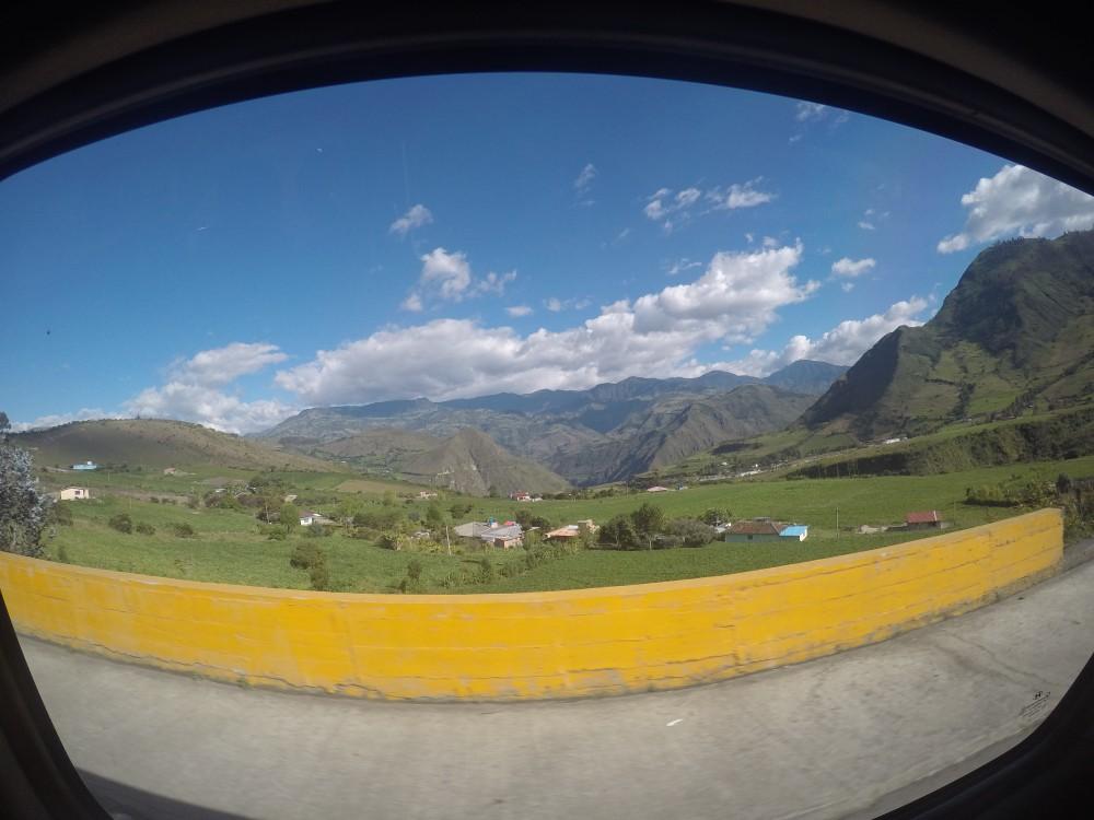 Anden Andenhochland Berge Fahrt Berge