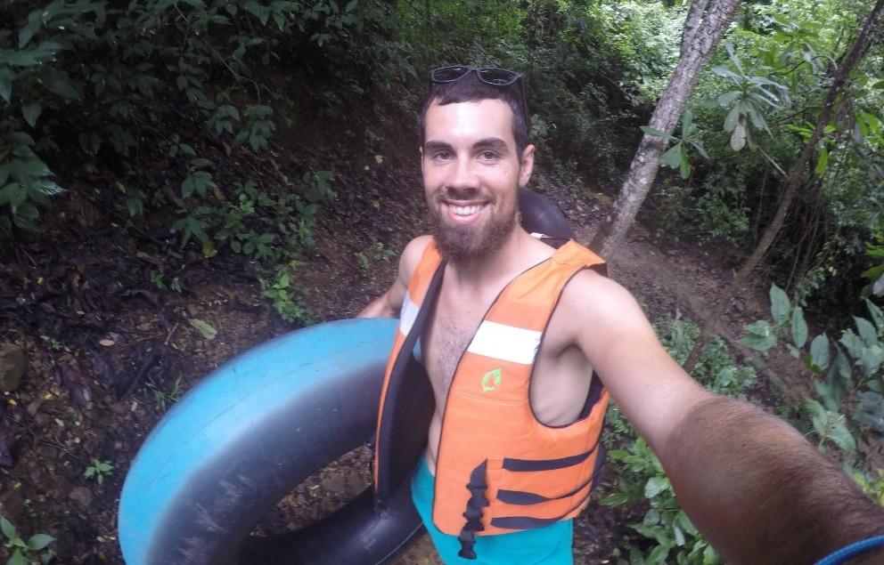 Wanderung Dschungel Fluss