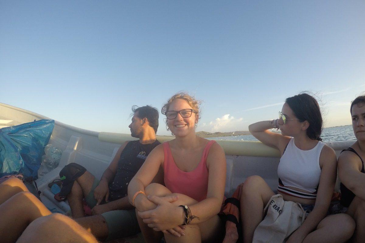 Bootsfahrt Boot Meer