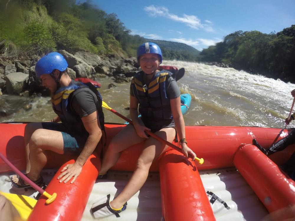 Wild Water Rafting Rio Suarez