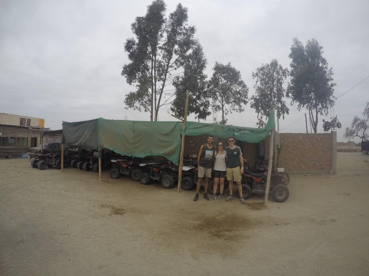 Huaccachina Ica Peru Südamerika Wüste Sand Quad Spaß