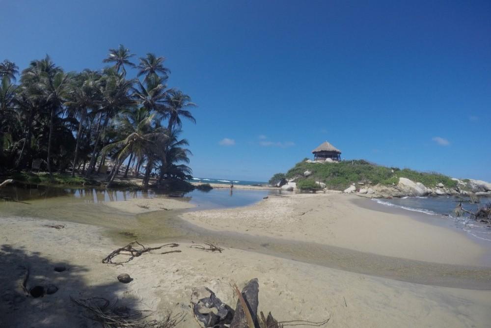 Cabo San Juan Strand Meer Palmen