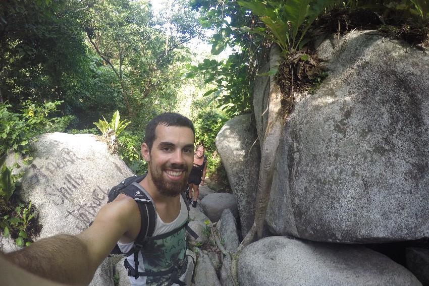 Dschungel Selfie