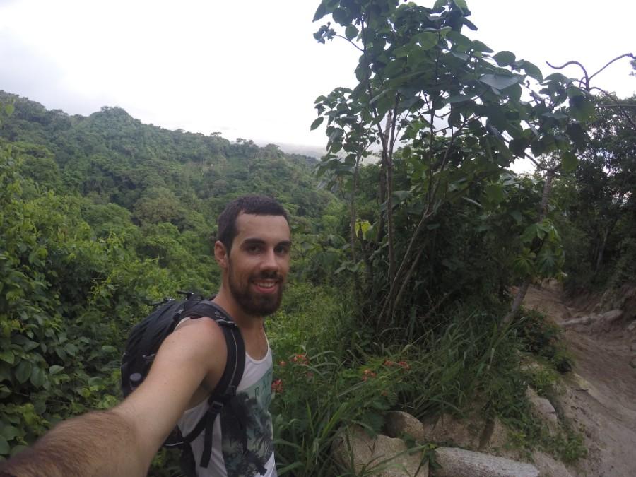 Dschungel Selfie Wald