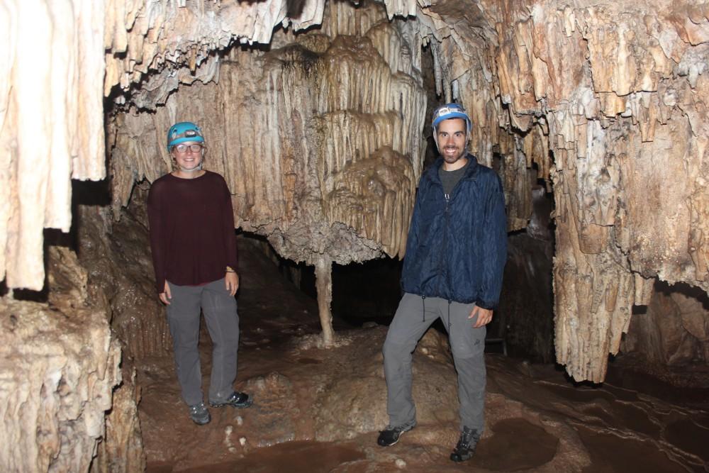 Torotoro Nationalpark Bolivien Südamerika Natur Höhle Klettern Cavernas Tropfstein Eng Spannend