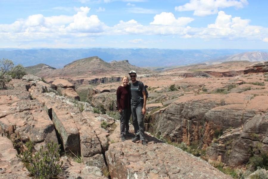 Torotoro Nationalpark Bolivien Südamerika Natur Aussicht Pärchen Ciudad de Itas