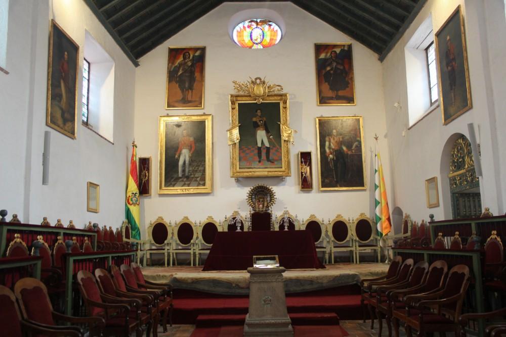 Sucre Bolivien Südamerika Unabhängigkeit Kolonien Freiheit Geschichte
