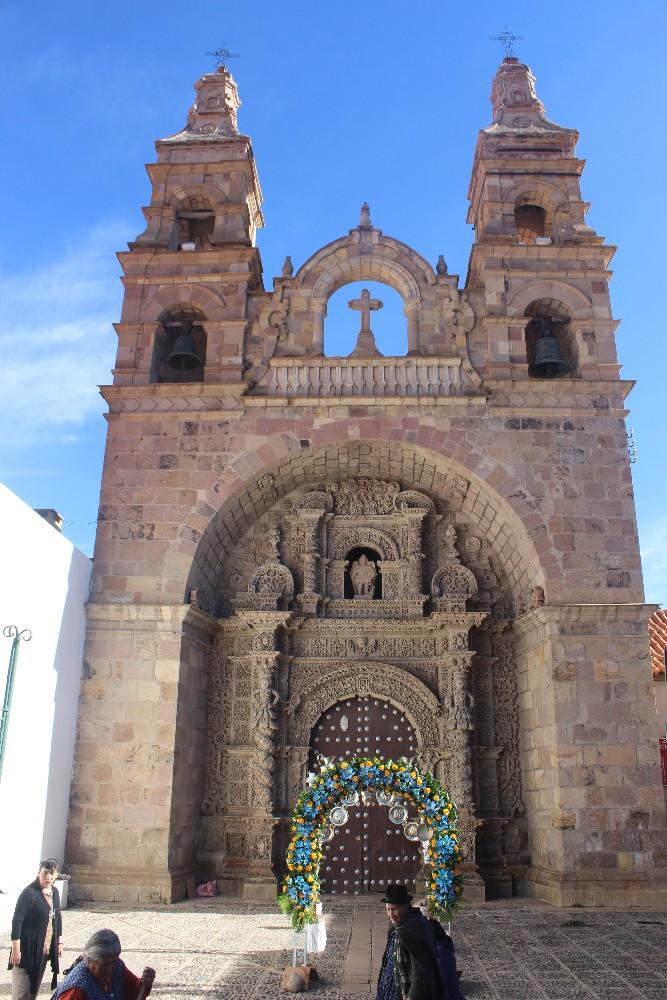 Potosi Bolivien Südamerika Stadt Kirche Zentrum