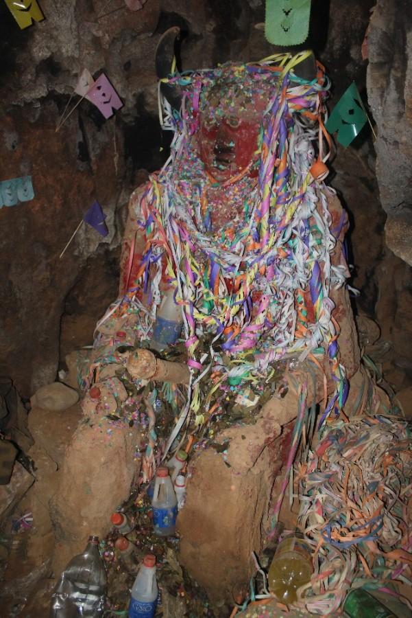 Tio Gott Minengott Bergbau Minenarbeiter Potosi Bolivien Südamerika