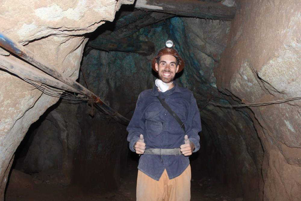 Mine Potosi Bolivien Südamerika Silbermine Bergbau