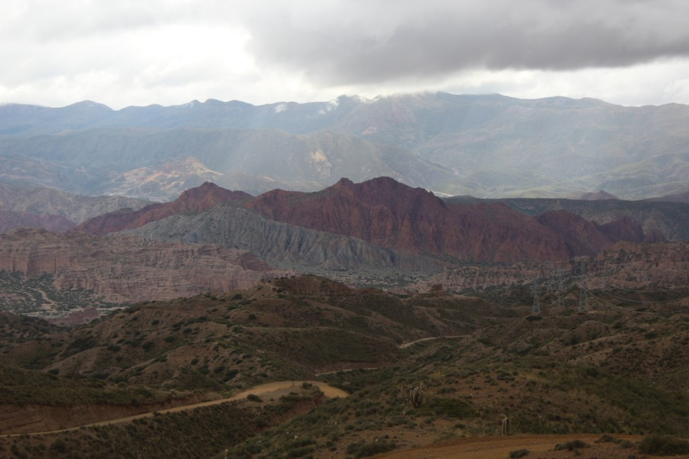Felsen Gesteinsfomrationen Jepptour Tupiza Natur Landschaft Bolivien Südamerika