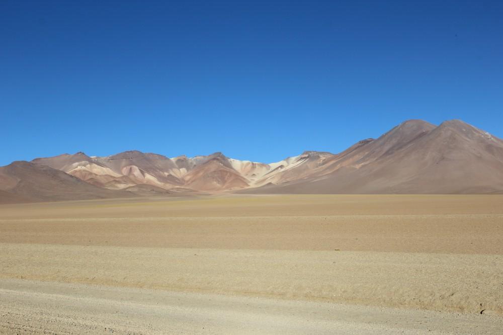 Dali Wüste Berge Wüste Sand Bolivien Südamerika