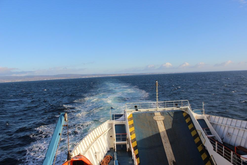 Fähre Meer Schiff Feuerland Chile Patagonien Süden Südamerika