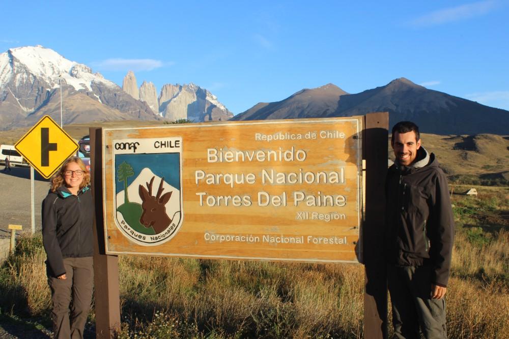 Nationalpark-Eingang