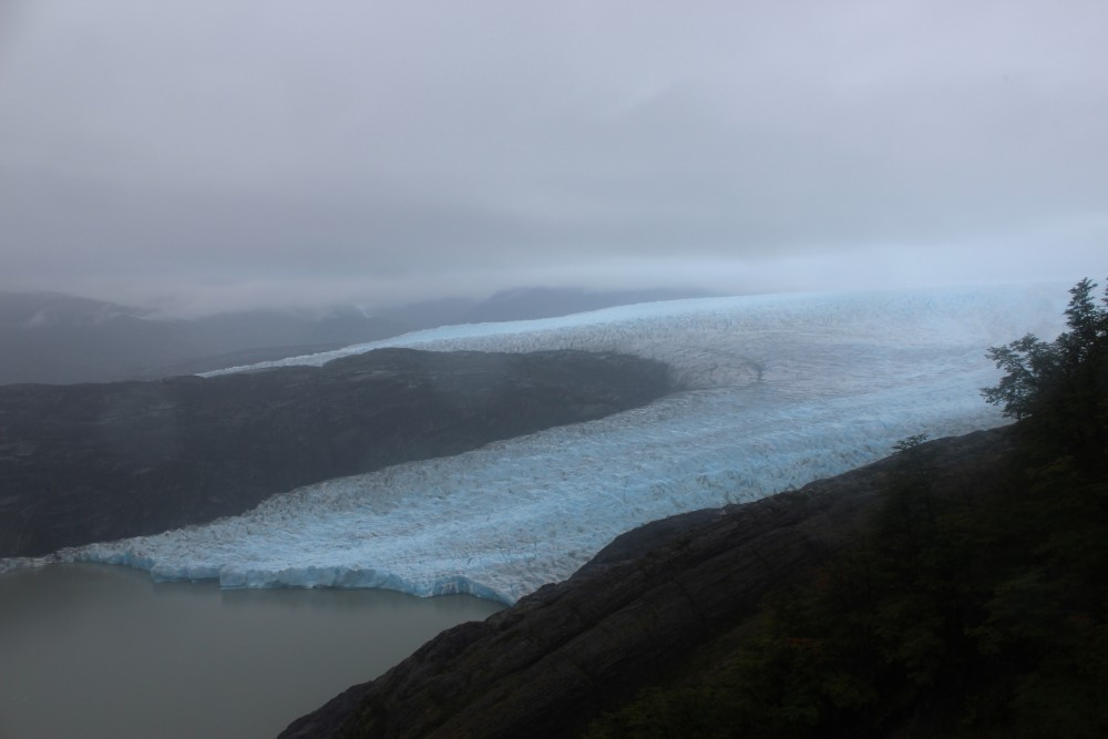 Gletscher-Zunge