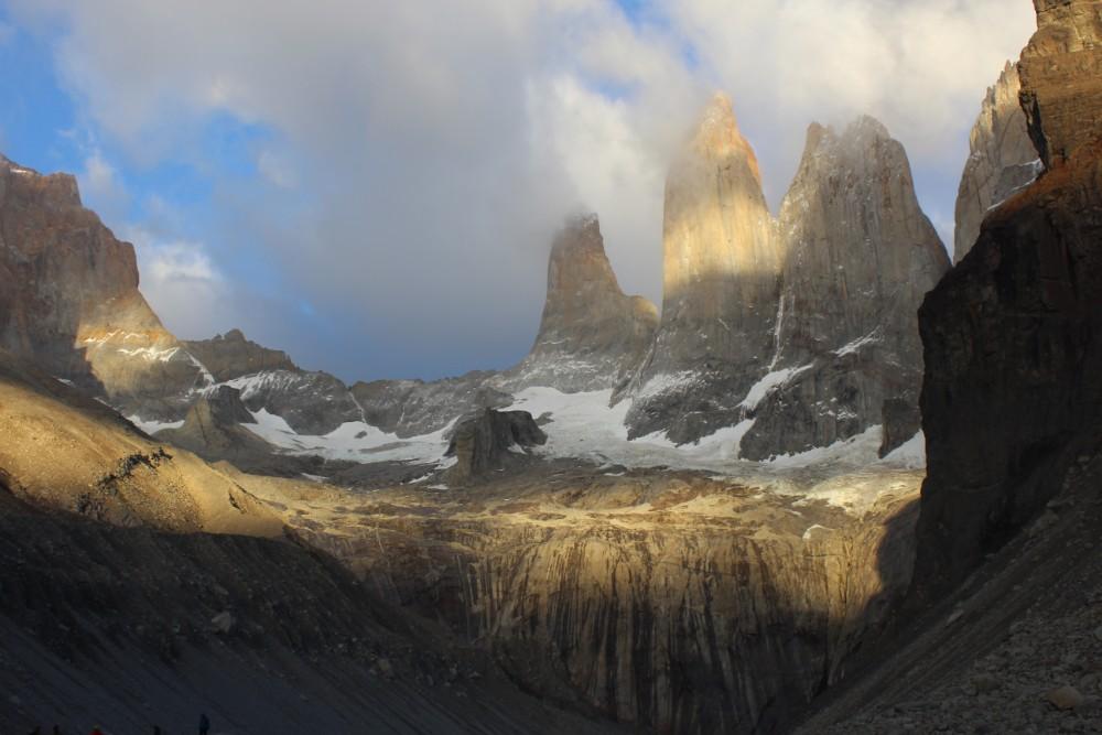 Torres-im-Sonnenaufgang