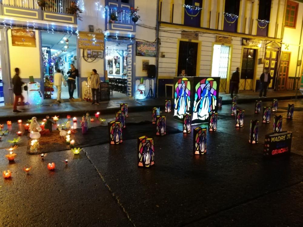 Kerzenfest Nacht Lichter