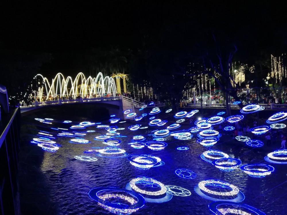 Lichter Fluss Wasser Fluss