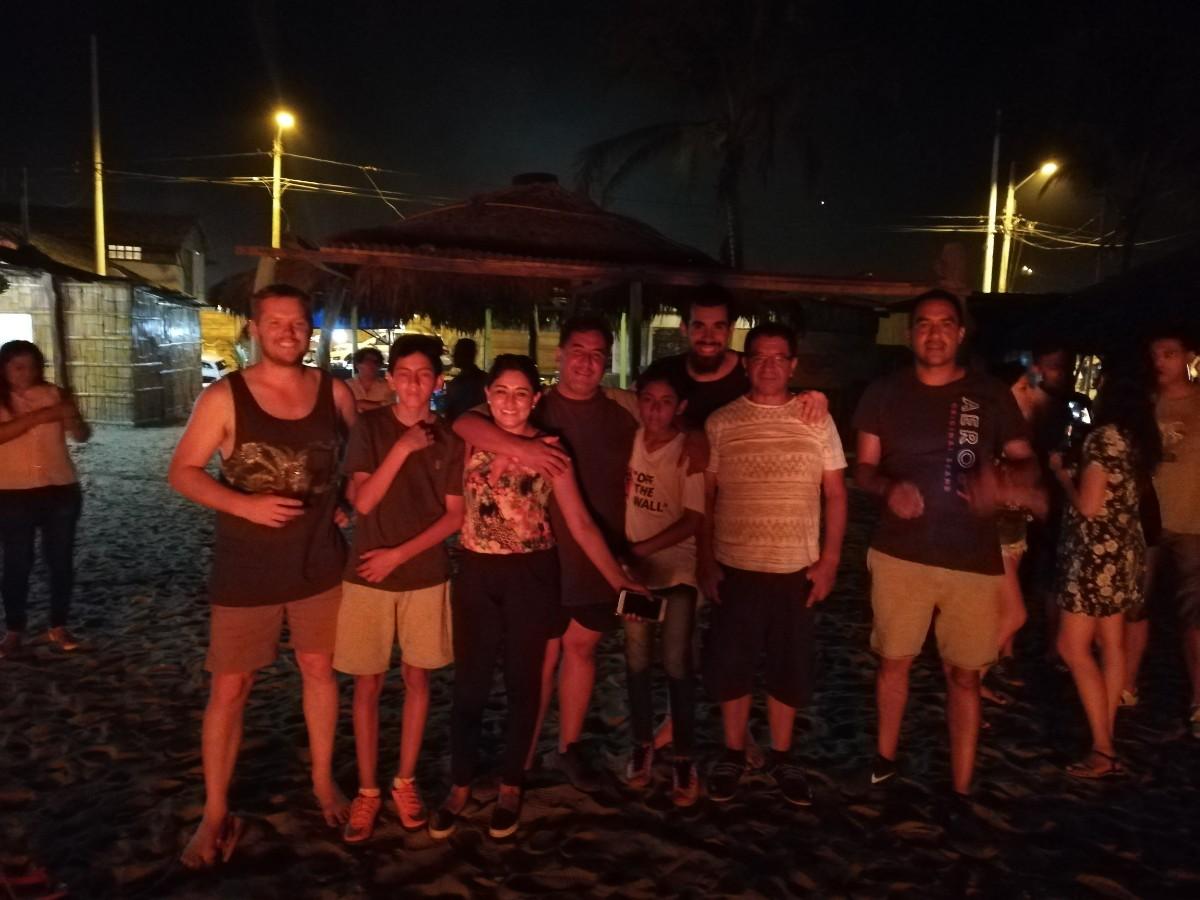 Silvesterfamilie Ecuador Ambato Neujahr Freunde