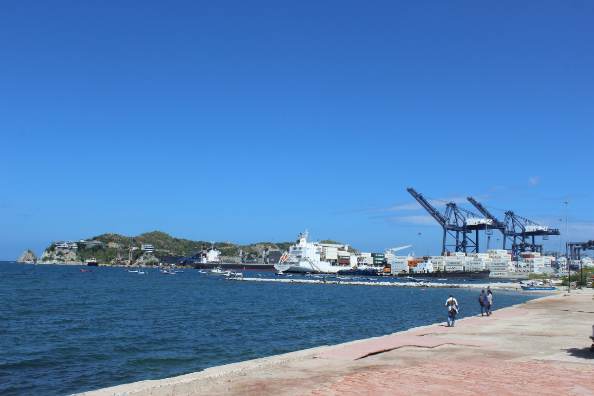 Santa Marta Hafen