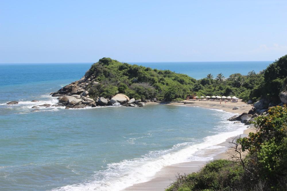 Strand Meer Dschungel