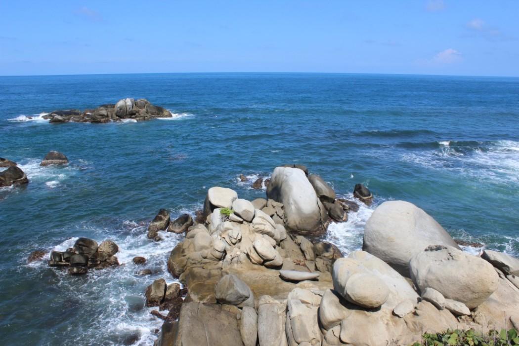 Meer Felsen Wellen