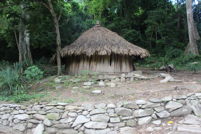 Pueblito Uhreinwohnerdorf Bambushütten