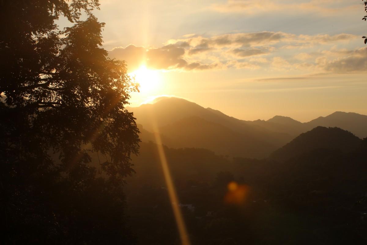 Minca Sonnenuntergang