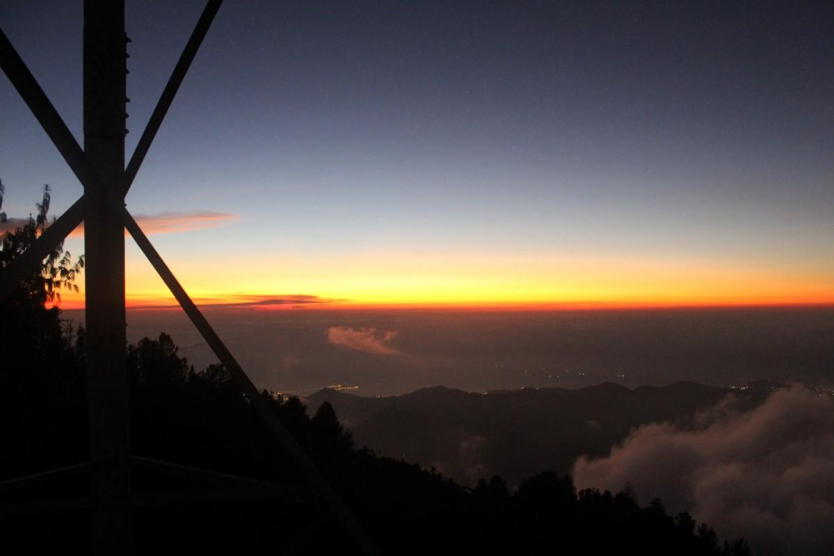 Sonnenuntergang Berg Minca