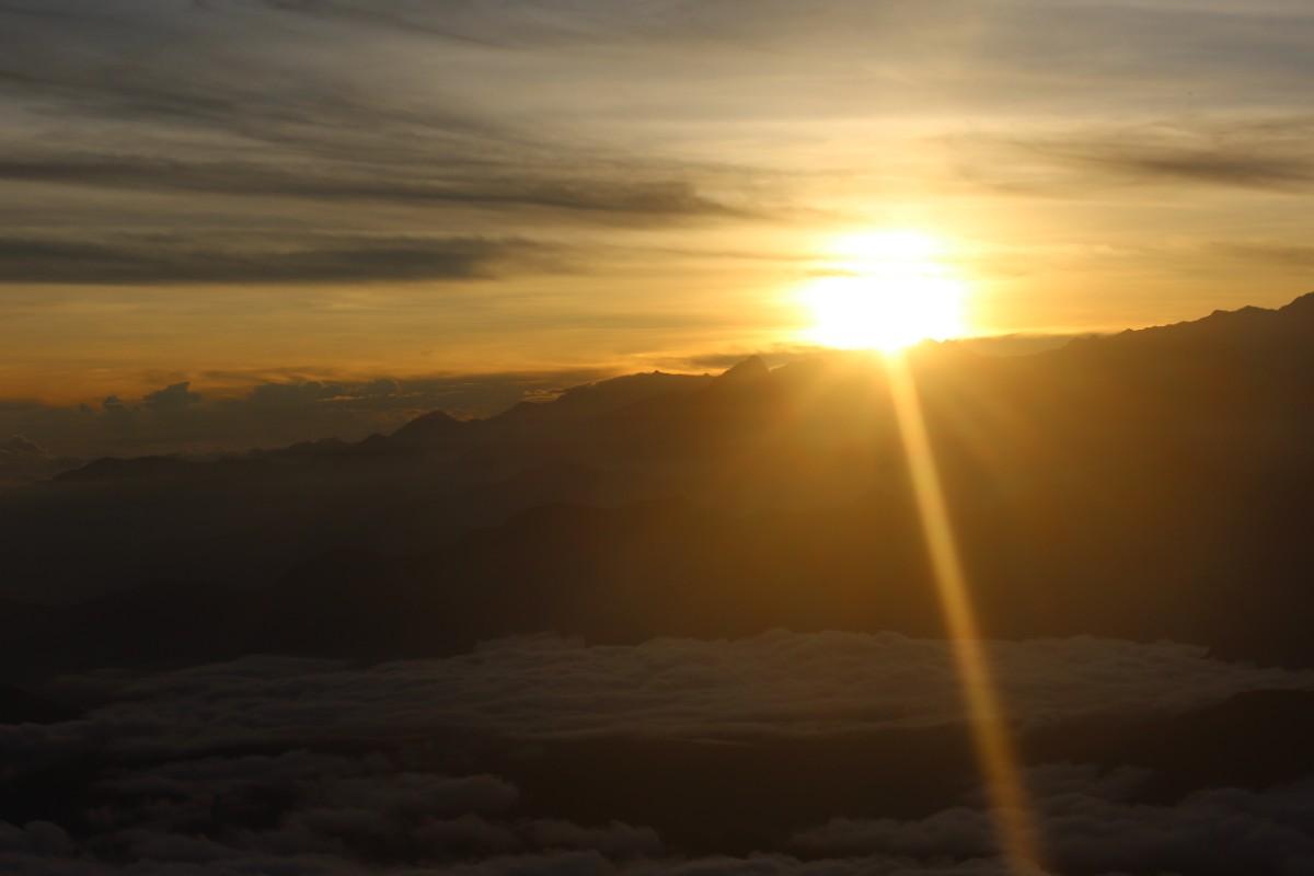 Sonneaufgang