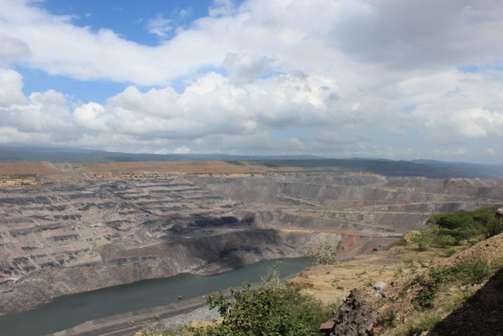 Miene Tagebau Kohle Cerrejon