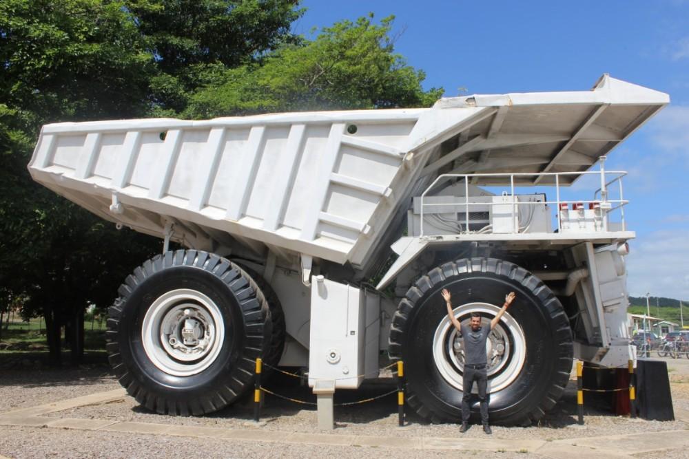 Truck LKW Miene Tagebau