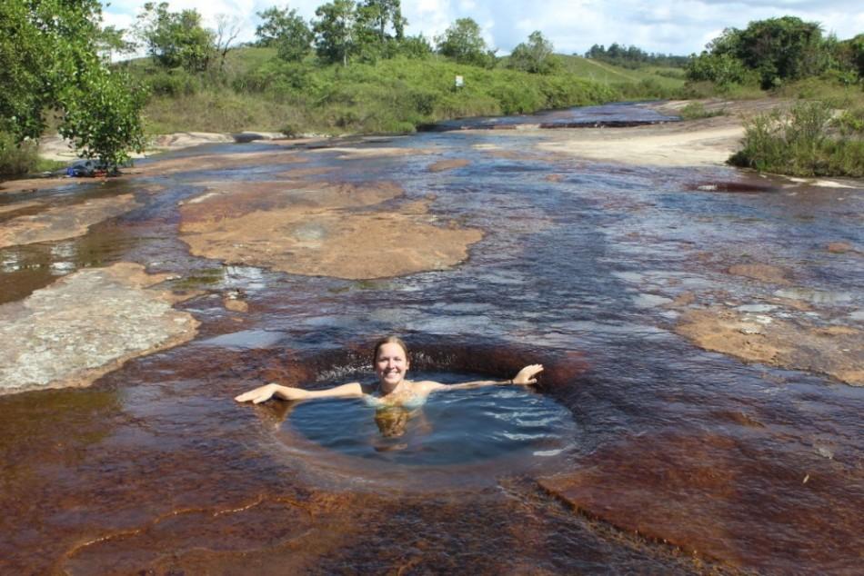 Gumpen Schwimmen Wasser