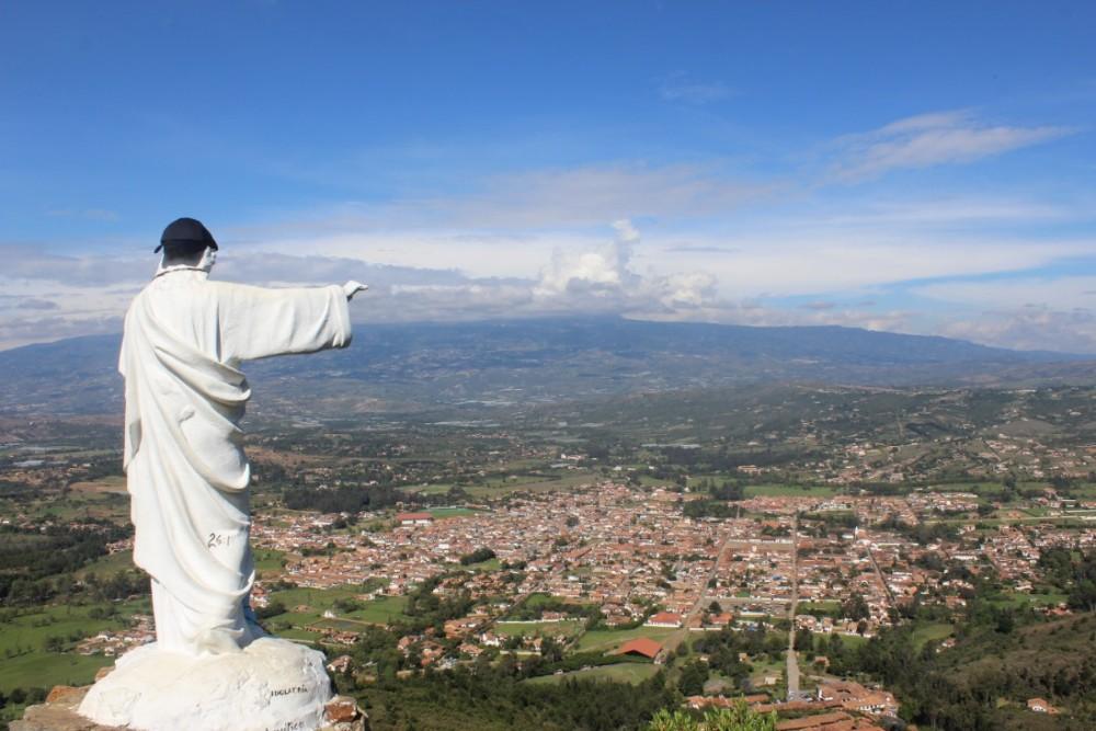 Jesus Aussicht Mütze Kette