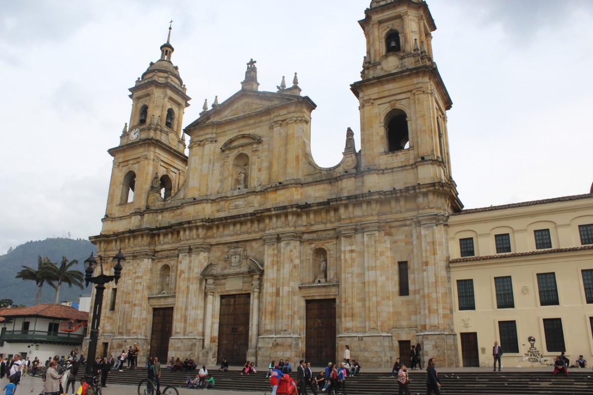 Bogotá Plaza Bolivar Kathedrale Kirche