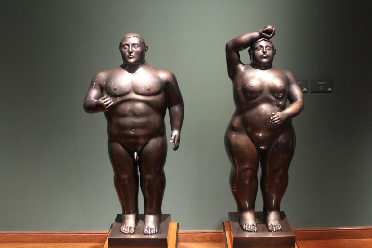 Staue Kunst Fernando Botero