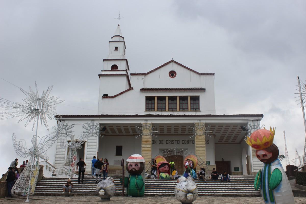 Bogota Monserrate Kloster