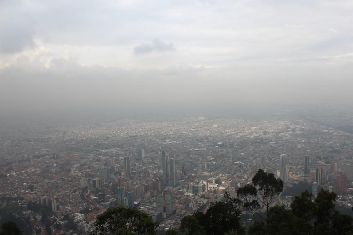 Ausblick Bogota Stadt