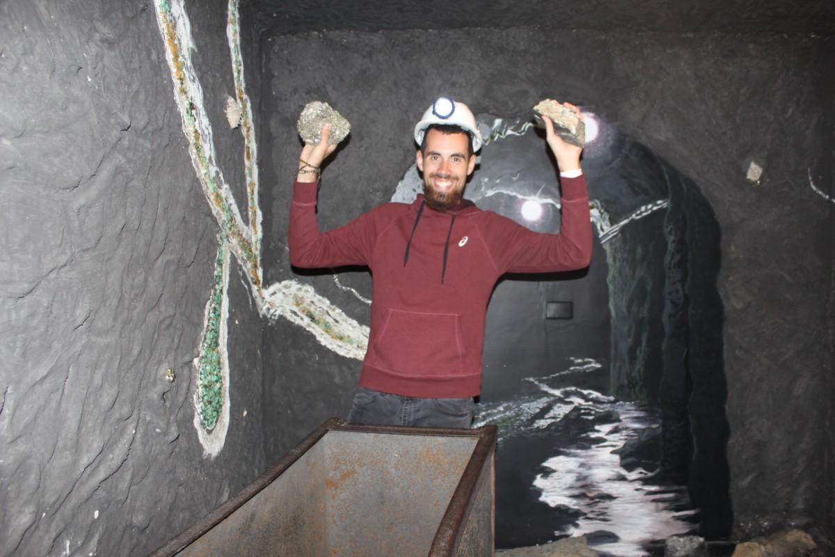 Bergbauer Smaragd Museum Bogota