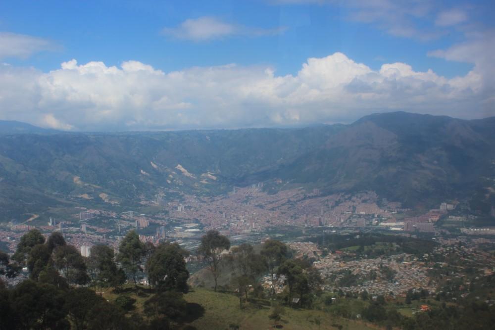 Medellín Park Arví Stadt Aussicht